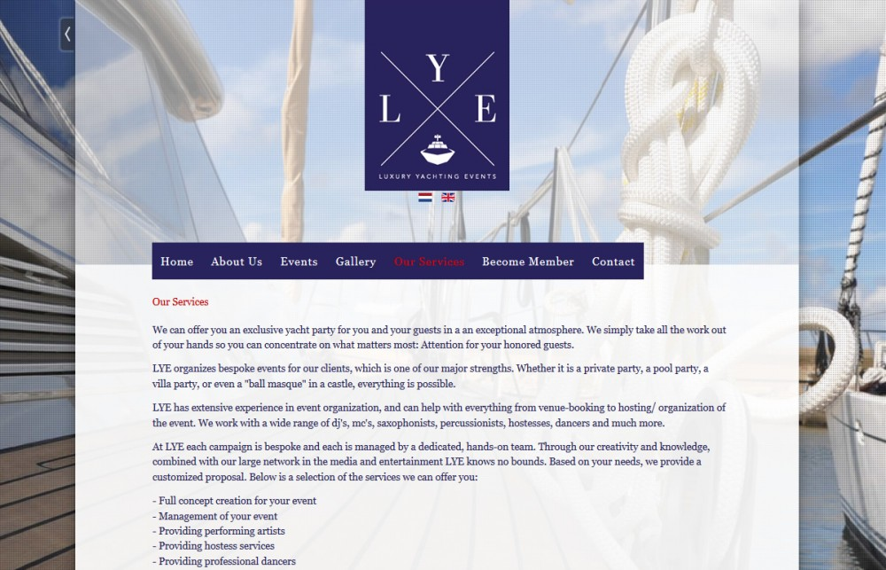 Luxury Yachting Events