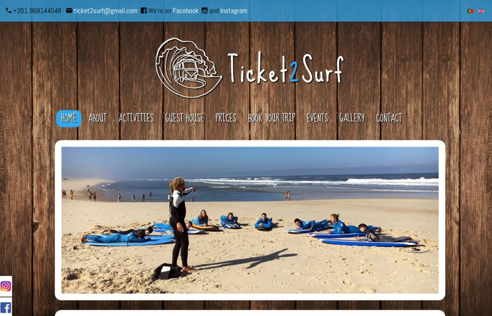 Ticket 2 Surf
